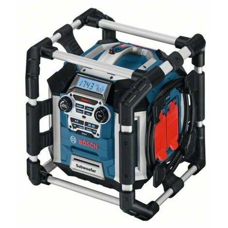 Bosch 0601429600 Radio/Cargador batería GML 50 Professional 50W AM/FM 14,4/18V-LI Entradas USB SD/MMC 2 AUX