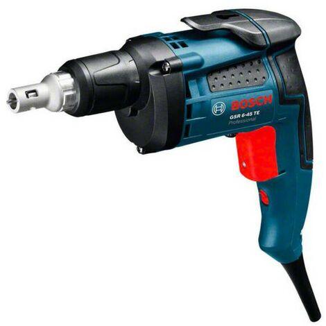 Bosch 0601445100 Atornillador de construcción GSR 6-45 TE 701W 4500rpm Dm Tornillo 6mm + tope profundidad + maletín