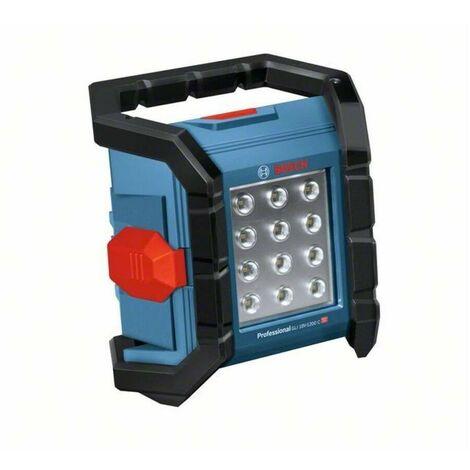 Bosch 0601446700 Linterna GLI 18V-1200 C Professional 14,4 y 18V-LI CONNECTED 12 LEDS 1200 Lum IP64 2 Niveles intensidad