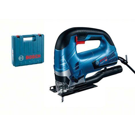 Bosch 060158F000 Sierra calar GST 90 BE Professional 650W Profundidad corte hasta 90mm Cambio hoja sierra + Maletín