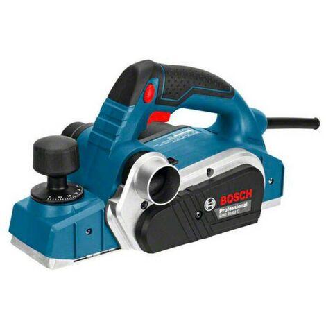 Bosch 06015A4301 Cepillo GHO 26-82 D Professional 710W Sistema Woodrazor 82mm anchura cepillado Ajuste espesor viruta 0-2,6mm