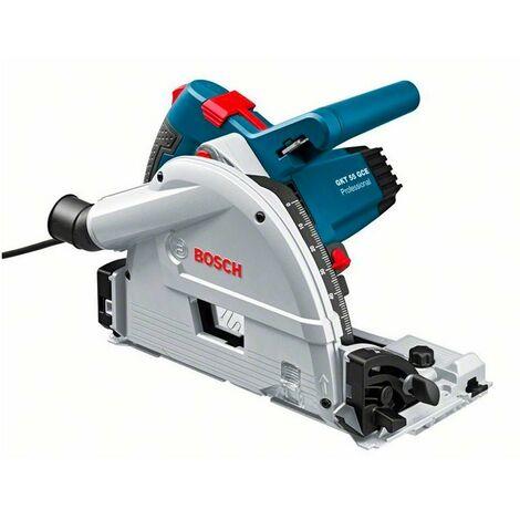 Bosch 0601675000 Sierra circular incisión GKT 55 GCE Professional 1400W + 1 Disco sierra 165mm y 48 dientes + Caja cartón