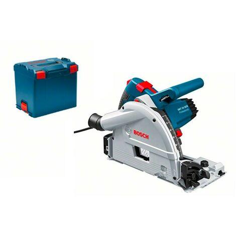 Bosch 0601675001 Sierra circular incisión GKT 55 GCE Professional 1400W + 1 Disco sierra 165mm y 48 dientes L-BOXX