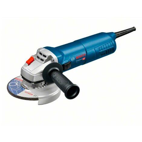 Bosch 060179D003 Miniamoladora GWS 11-125 Professional 1100W 11500rpm Disco 125mm Prot. rearranque + Empuñadura + Maletín