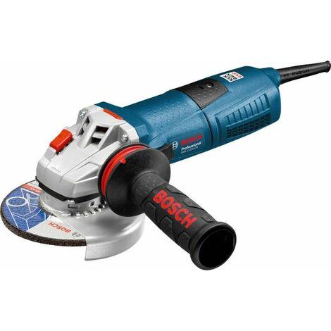 Bosch 060179F002 Miniamoladora GWS 13-125 CIE Professional 1300W 125mm 11500rpm Regulación electrónica Prot. rearranque
