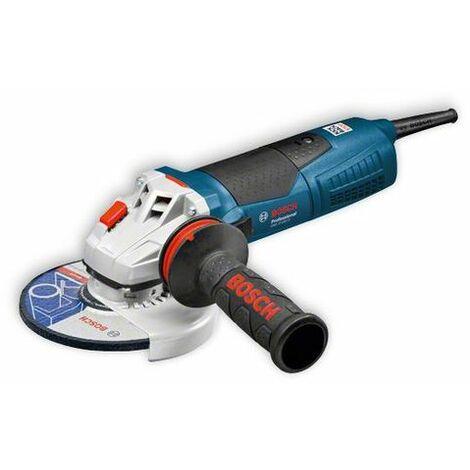 Bosch 060179K002 Miniamoladora GWS 17-150 CI Professional 1700W 150mm 9300rpm Prot. rearranque KickBack Stop 2,5kg + Empuñadur