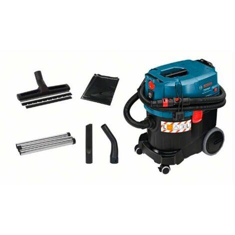 Bosch 06019C3000 Aspirador GAS 35L SFC+ Professional 1380W Para seco y húmedo 35l 2200W Equipo y tuberías anti-estático