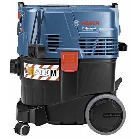 Bosch 06019C3100 Aspirador GAS 35M AFC Prof 1380W Para seco y húmedo 35l 2200W Equipo y tuberías anti-estático
