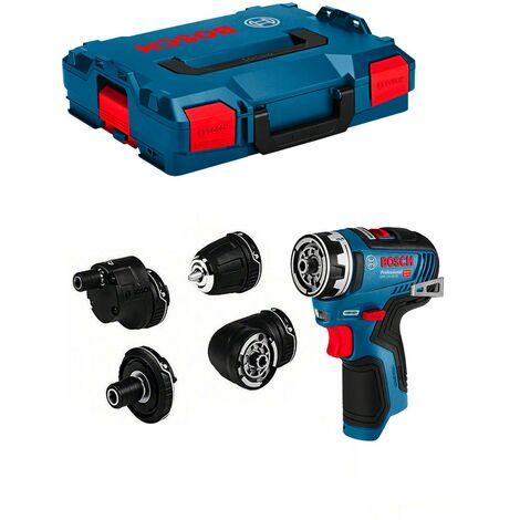 Bosch 06019H3003 - Perceuse-visseuse sans fil GSR 12V-35 FC C&G GFA 12-X/12-B/12-W/12-E, Chargeur et batterie Li-Ion non livrée