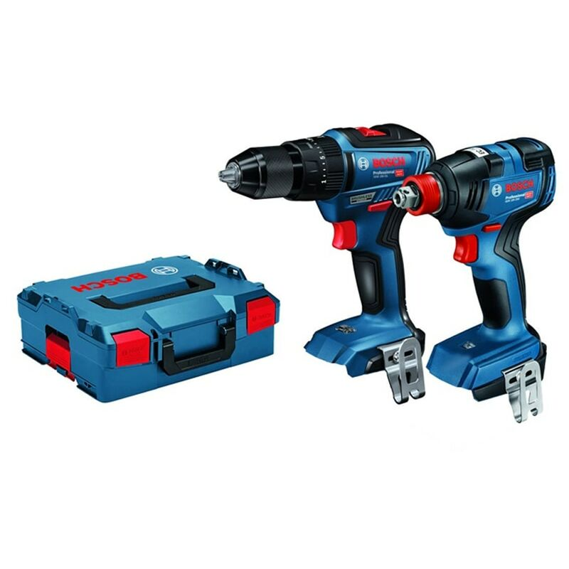 Image of 06019J2203 Brushless Combi Drill & Impact Wrench 18V Twin Pack (Body Only) - Bosch