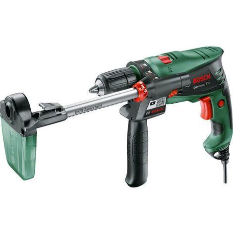 Bosch 0603130001 Taladro percutor EasyImpact 550 + Drill Assistant 550W Softgrip Portabrocas 2 piezas Preparado para aspiració