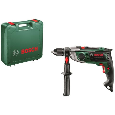 Bosch 0603174000 Taladro percutor AdvancedImpact 900 900W Softgrip Portabrocas metal AutoLock Kickback Control + Maletín