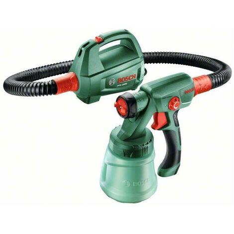 Bosch 0603207300 Pistola pulverización PFS 2000 440W Capacidad proyección 0 – 200ml/min Aplicación pintura 1,5m² en 1min