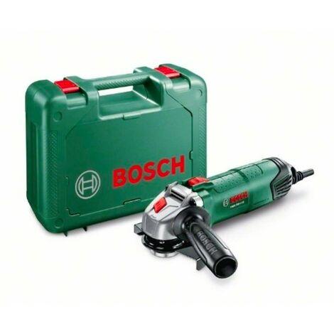 Bosch 06033A2400 Amoladora PWS 750-115 750W 12000rpm 115mm Vibraciones reducidas Retención husillo + Disco 115mm + Maletín