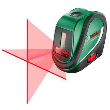 Bosch 0603663800 Nivel láser líneas autonivelantes Universal 2 2 proyecciones horizontal vertical y + plomada Alcance 10m