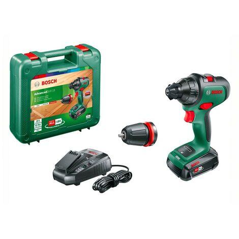 Bosch 06039B5100 Taladro percutor batería AdvancedImpactDrill 18 18V 2,5Ah Motor brushless Dos velocidades