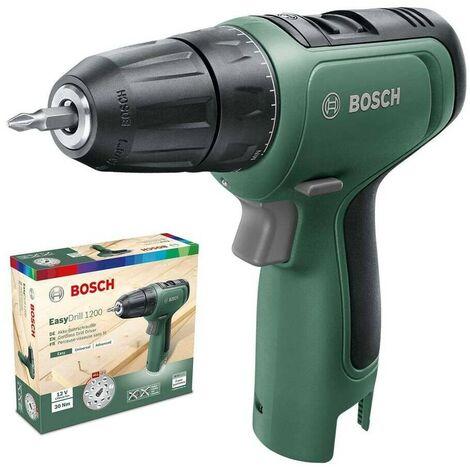 Bosch 06039D3000 Taladro atornillador a batería EasyDrill 1200 12V 2 vel 15+1 pos + caja cartón sin batería ni cargador