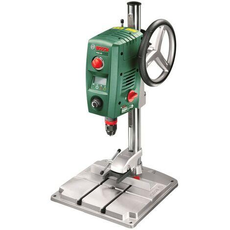 Bosch 0603B07000 Taladro columna PBD 40 710W Ajuste profundidad láser y luz LED fijación rápida placa base y portabrocas