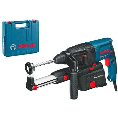Bosch 0611250500 Martillo SDS Plus GBH 2-23 REA Professional 710W 2,3J Sistema aspiración fácil colocación + Maletín