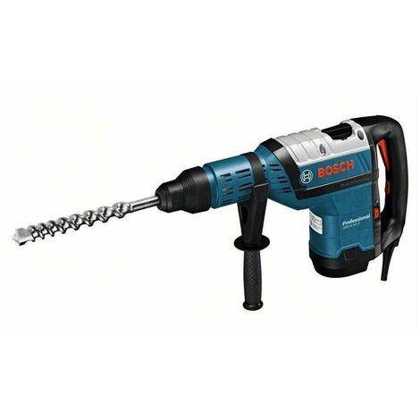 Bosch 0611265100 Martillo SDS Max GBH 8-45 D Professional 1500W 12,5J Perforación hasta 45mm Parada giro + Maletín