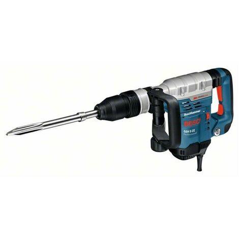 Bosch 0611321000 Martillo SDS Max GSH 5 CE Professional 1150W 13J SDS Max Electrónico Amortiguación vibraciones + Maletín