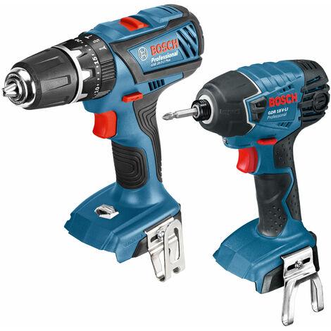 Bosch 0615990H97 GSB 18-2-LI Plus Combi Drill + GDR 18-LI Impact Driver Kit 18V