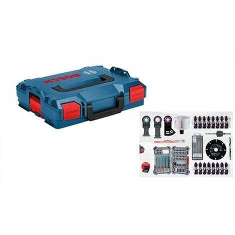 Bosch 06159975V6 L-BOXX de 67 piezas + juego de herramientas manuales Gedore de 26 piezas