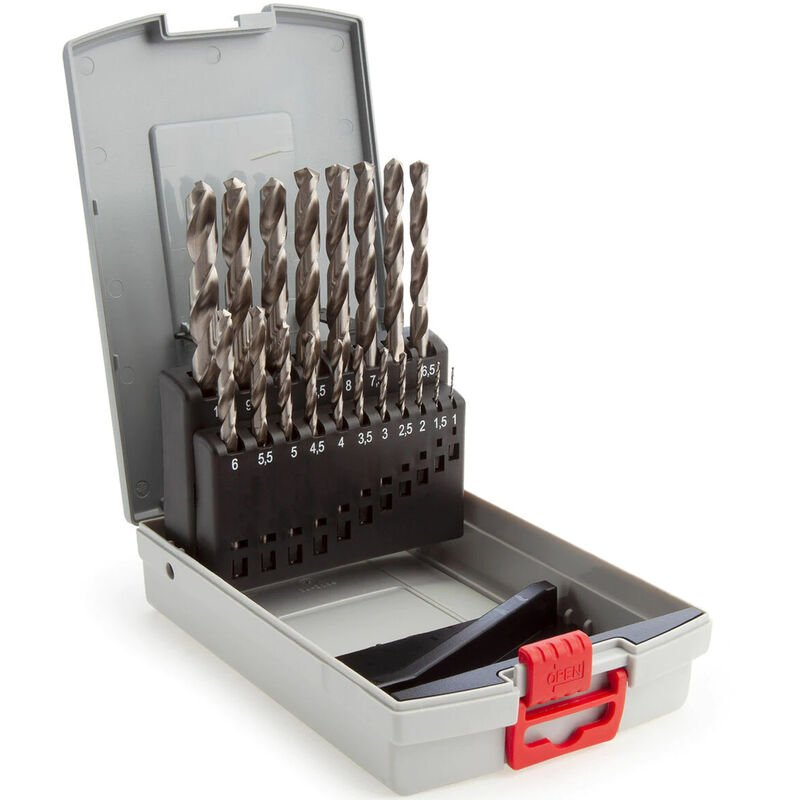 Image of 1-10mm Metal Drill Bit Set HSS-G ProBox 19 Piece - SPL - Bosch