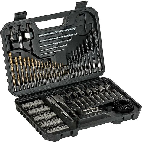 Bosch 103 Piece Professional Titanium Drill Screwdriver Bit Set 2608594070