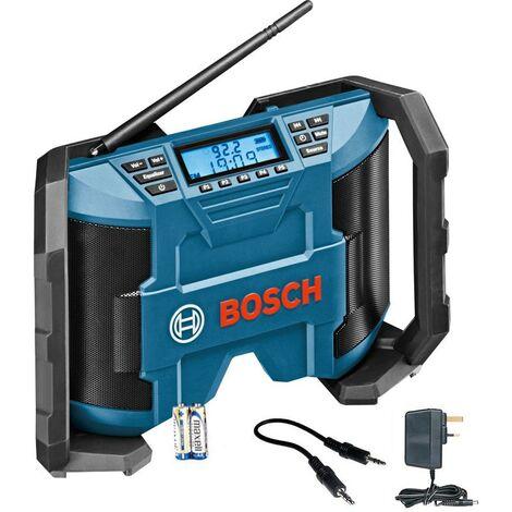 Bosch 12v 10.8v GML 12 V-LI Radio Lithium Professional Jobsite Radio AM FM MP3
