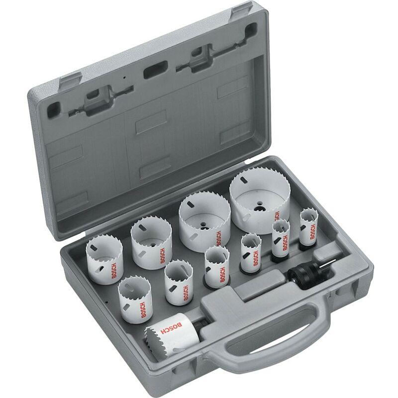 Image of 2 608 584 667 HSS-Co Progressor Holesaw Set - 14 Piece - Bosch
