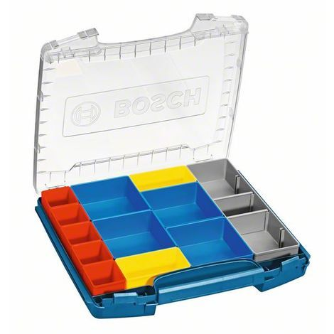 BOSCH 1600A001S7 Maletín de transporte i-BOXX 53 con set de 12 piezas