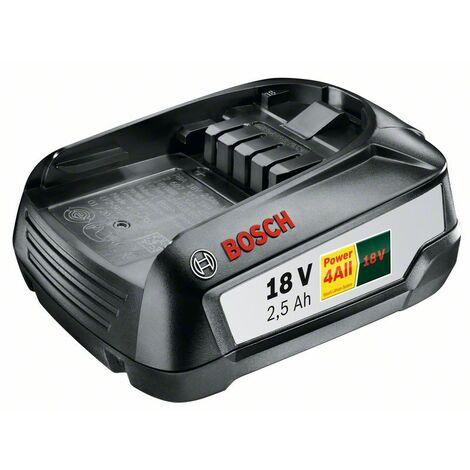 BOSCH 1600A005B0 Accesorios de sistema de litio de 18 V PBA 18 V 2,5 Ah W-B
