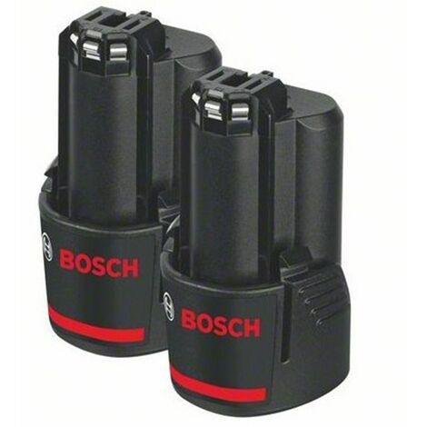 Bosch 1600Z00040 / GBA 12V 2.0Ah Li-Ion pack doble Batería (2st)