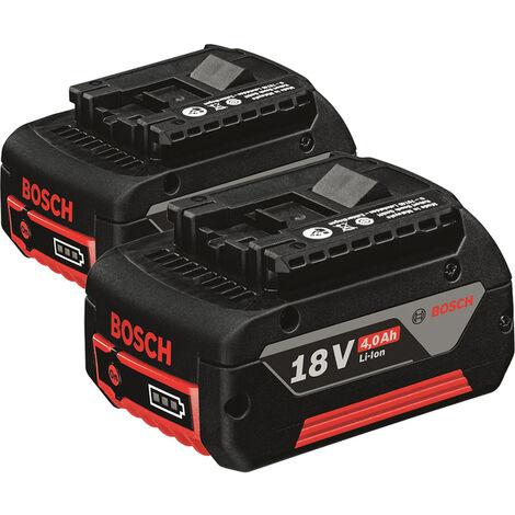 Bosch 1600Z00042 Pack de 2 batterie - 4.0Ah