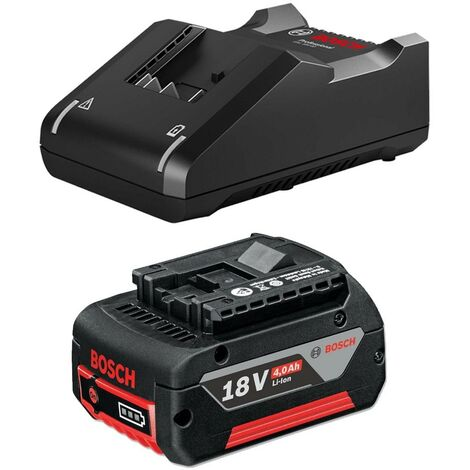 Bosch 18v 4.0Ah Battery Li-ion Cordless 4ah Coolpack & GAL18V40 Fast Charger