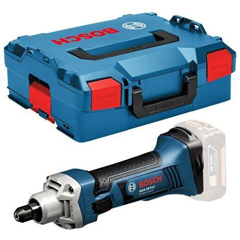 Bosch 18v GGS 18 V-LI Cordless Straight Die Grinder Bare + LBOXX GGS18VLIN