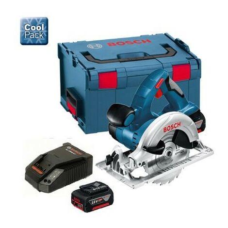 Bosch 18v GKS 18VLI Lithium Ion GKS18VLI Cordless Circular Saw + 4ah Battery
