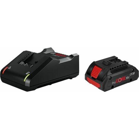 Bosch 1xProCORE18V 4,0Ah batterie + kit de démarrage chargeur GAL 18V-40