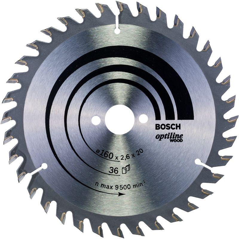 20 Bosch Lama per Seghe Modello PKS 40 130 x 2,4 x 20//16 mm