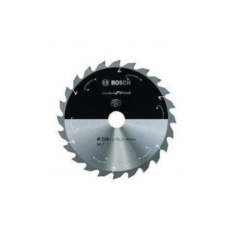 Bosch 216mm X 30mm X 24T 1.7/1.2MM Circular Saw Blade