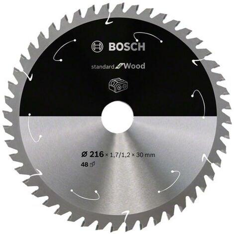 Bosch 216mm x 30mm x 48T 1.7/1.2mm Saw Blade