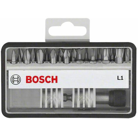 Bosch 2607002568 19-Piece Extra Hard Screwdriver Bit Set