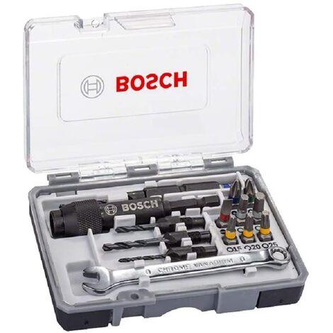 BOSCH 2607002786 Juego de 20 puntas de destornillador Drill&Drive PH2