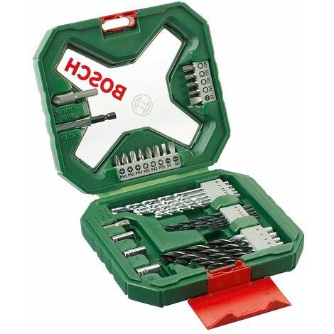 Bosch 2607010608 Maletín X-Line Classic 34 uds taladrar y atornillar