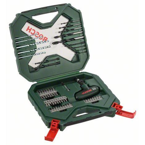 BOSCH 2607010610 Maletín X-line Classic de 54 pcs para taladrar atornillar