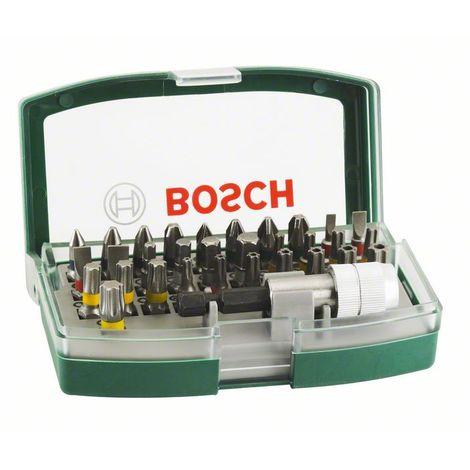 BOSCH 2607017063 Set con 32 unidades para atornillar