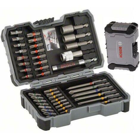 Bosch 2607017164 43 Screwdriver Drill Bit Set & Nutsetter Nut Driver In Case