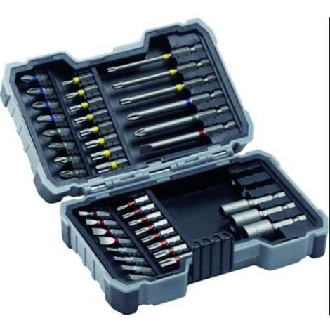 Bosch 2607017164 Punta atornillar Ph Pz S H T Th + otros set 43 uds