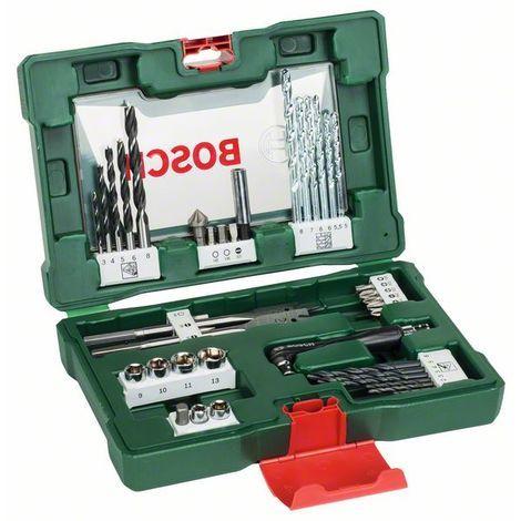 BOSCH 2607017316 Maletín V-line 41 unidades taladrar y atornillar,acodado
